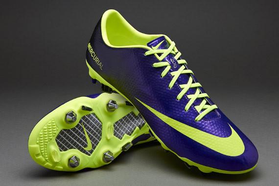 Бутсы Nike Mercurial Vapor X Sg-Pro 555607-570 Синие, Найк меркуриал (Оригинал)