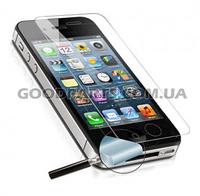 Стекло для iPhone 4, 4s Tempered Glass Pro+ противоударное без упаковки 0.25 мм