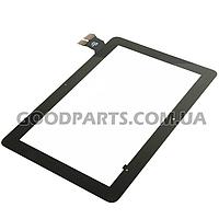 Сенсорный экран (тачскрин) к планшету Asus ME103 (p/n:MCF-101-1521-V1.0) черный (Оригинал)