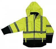 Куртка softshell (желто-синяя) - размер м BETA