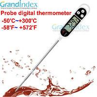 Термометр KT-300 щуп для жидкости, пищи, почвы