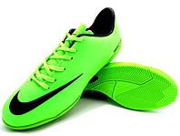 Детские футзалки (бампы) Nike Mercurial Victory IV IC Neo Lime/Black