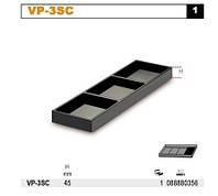 Контейнер из пластмассы 129x410x45 мм Beta BE8888-VP3SC