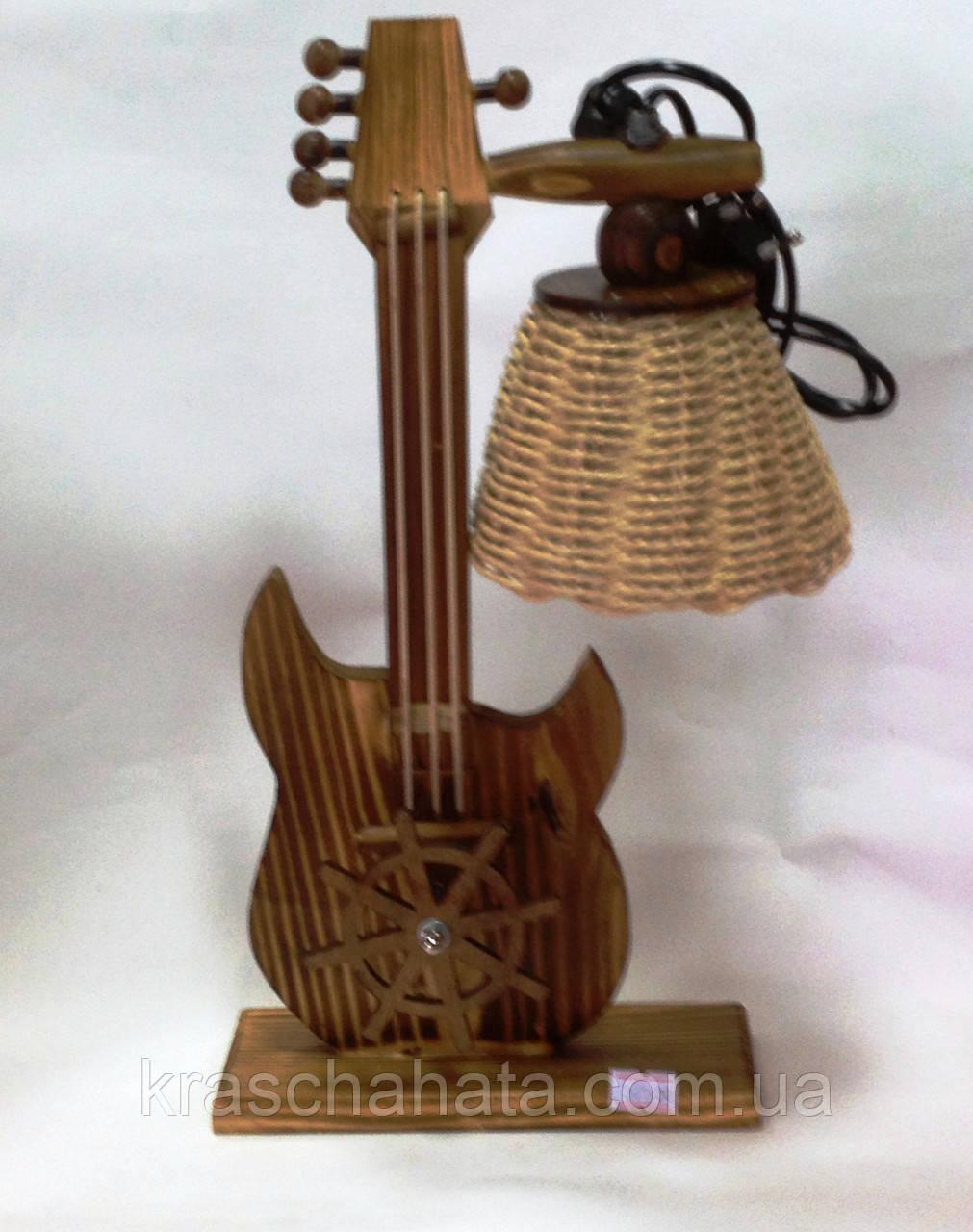Светильник, Гитара музыкальный, Н34 см, Декор для дома, Освещение для дома, Днепропетровск - Интернет-магазин «Краща хата» в Днепре
