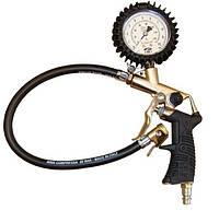 Инструмент для накачивания шин, диапазон 0-10 бар, 25/d-rb 15, шкала в bar/psi BETA,