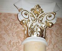 Декоративное оформление лепного декора, багетов, позолота