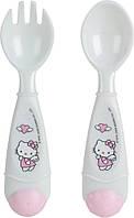 Набор ложка+вилка Hello Kitty