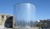 Емкость 2000м3 м.куб из черной или нержавеющей стали от производителя, изготовление емкостей и резервуаров