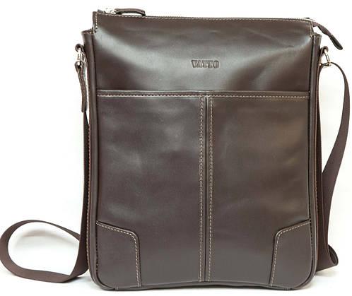 Мужская сумка через плече коричневая из натуральной кожи VATTO Mk10Kaz400