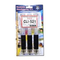 Заправочный набор WWM для Canon CLI-521 (3 x 20мл) Black (IR3.C11/B)