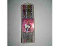 Набір гелевих ручок в пластиковій упаковці 8 кольорів ПК з блискітками JO HY-006-8