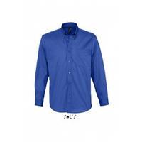 Рубашка из хлопкового твила с длинным рукавом Sols BEL-AIR, цвета в ассортименте, фото 1