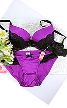 Набор фиолетового белья П-452