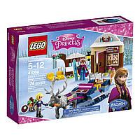 Lego Disney Princesses Путешествие Анны и Кристофа на санках 41066
