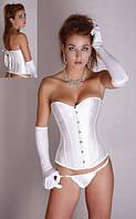 Свадебный корсет с перчатками