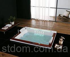 Гидромассажная ванна Golston G-U2606A встраиваемая (без панелей), 190х158х77 cм