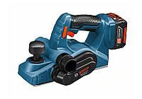 Рубанок Bosch gho 14,4 v-li 2 х3,0ah + кейс l-boxx