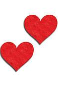Наклейки на соски в виде сердечек