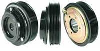 Шкив компрессора кондиционера в сборе ZEXEL DKS15CH / DKS17CH (Volvo) 119mm/6pk 12V