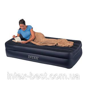 Надувные кровати Intex 66706 ( 191 х 99 х 47 см.) с встроенным насосом, фото 2