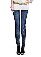 Леггинсы с имитацией под джинсы