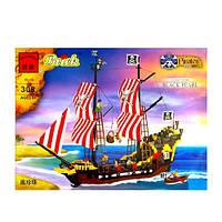 Конструктор Пиратский корабль Черная Жемчужина 308 BRICK