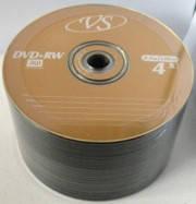 """Диски VS DVD + RW 4.7GB """"50 bulk"""" 4x"""