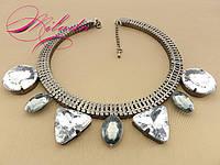 """Ожерелье с крупными камнями """"Николет"""""""