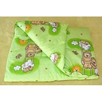 Одеяло детское 145*105 зима (поликотон)