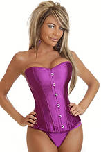 Фіолетовий корсет