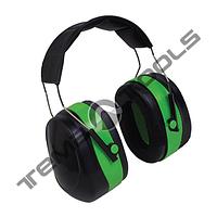 Наушники с шумоподавлением 32dB зелёные мягкий наголовник
