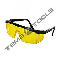 Очки жёлтые (код 808) поворотные удлинённые дужки, стекло поликарбонат