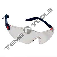 Очки защитные 2740 (поликарбонатные 3М, незапотевающие, стойкие к царапинам, защита от УФ, прозрачные, FT)