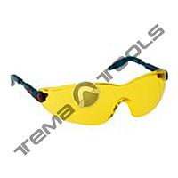 Очки защитные 2742 (поликарбонатные 3М, незапотевающие, стойкие к царапинам, защита от УФ, жёлтые, FT)
