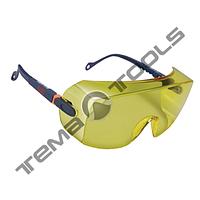 Очки защитные 2802 (поликарбонатные 3М, незапотевающие, стойкие к царапинам, защита от УФ, желтые)