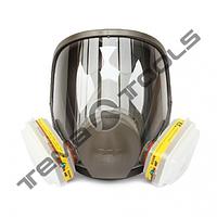Полнолецевая маска 3М 6800 (без фильтров) средняя