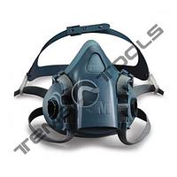 Полумаска респиратор 3М 7501 (без фильтров) малая