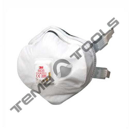 Респиратор с клапаном 8835 Р3 с/б (пыли, дымы, туманы до 50 ПДК) 3М8835