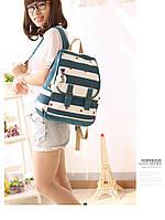 Стильный рюкзак в полоску , фото 1