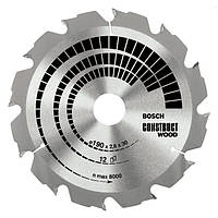 Пильный диск Construct wood  500x3,8x30x36z BOSCH