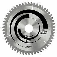 Пильный диск универсальный 190x2,4x20/16x54z BOSCH