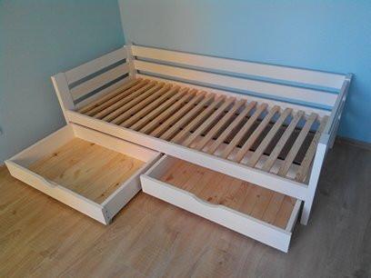 Кровать из натурального дерева детская Панда 2 (200х90), фото 5