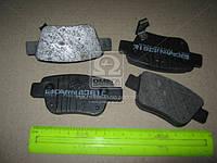 Колодка тормозная TOYOTA COROLLA заднего (производитель Intelli) D361E