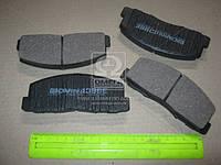 Колодка тормозная MITSUBISHI COLT, GALANT передний (производитель Intelli) D396E