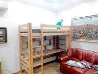 Кровать детская из дерева Ягненок S, фото 1