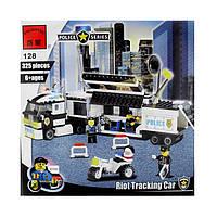 Конструктор Полицейский фургон 128 BRICK