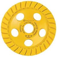 Алмазный диск для шлифовки бетона / универсальный turbo, 125 х 22,2 мм BOSCH