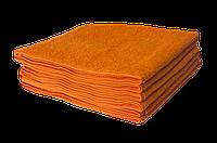 Полотенце махровое Lotus 40*70 оранжевое
