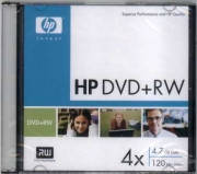 Компьютерный диск HP DVD + RW 4.7GB Slim 4x