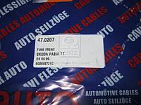 Трос ручного тормоза SKODA FABIA,VW POLO (производитель Adriauto) 47.0207